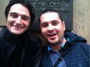 Foto (z leva): Daniel Charvát a David Fábry