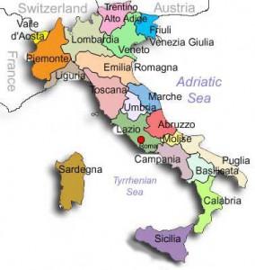 kaart-italie