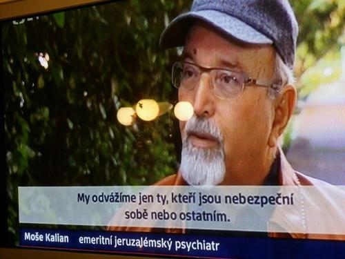 """Eugen Kukla: """"Jakub Szántó o jeruzalémském náboženském syndromu. ČT24 26.XII.2014"""""""