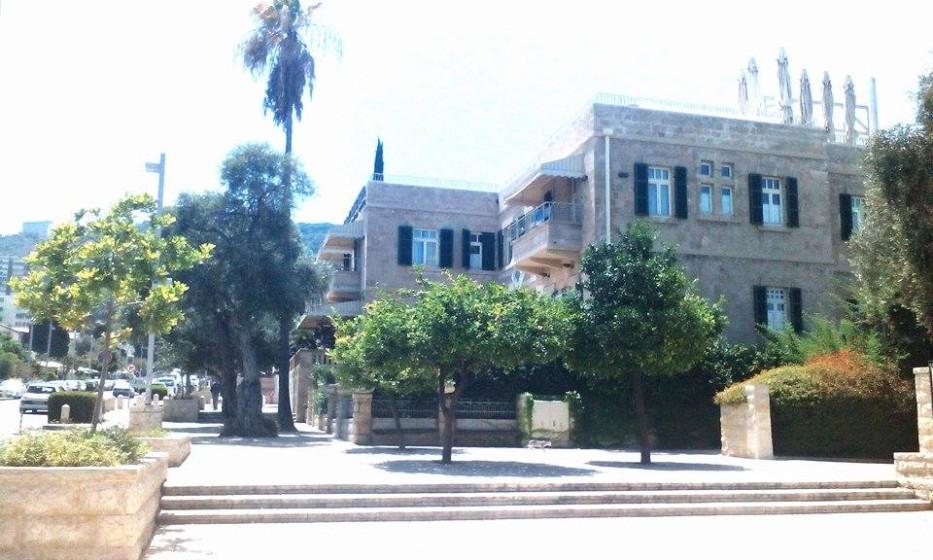 Německá kolonie v Haife. Němci zde žili až do roku 1939,kdy je,pro podezření z nacismu, vyhnala britská armáda.
