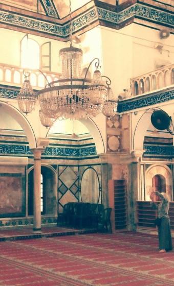 Největší a nejkrásnější mešita v Akka - Al- Jazzar.