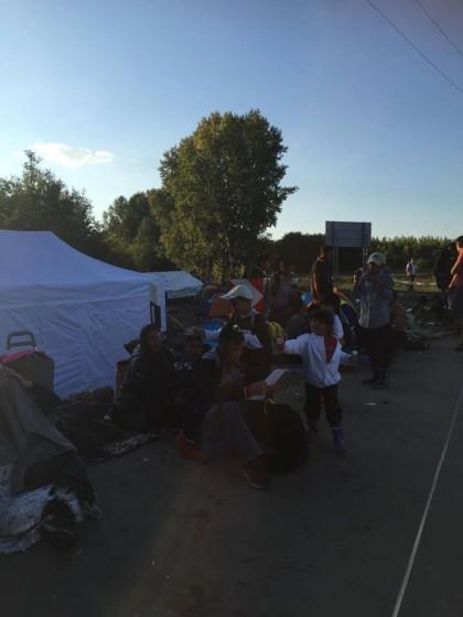 Ásotthalom camp-odpočinek po strastiplné cestě