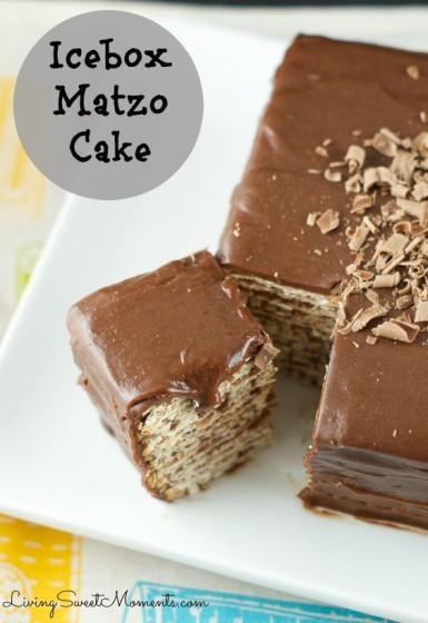 čokoládový maces dort