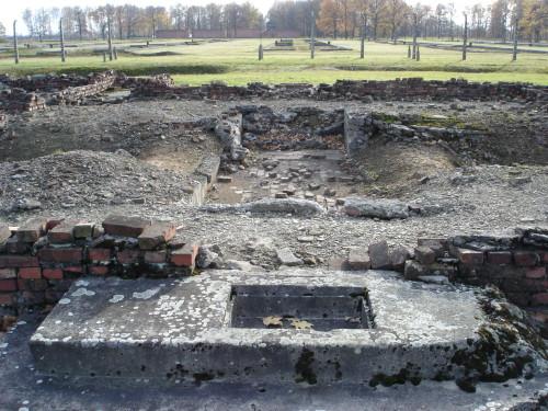 Ruiny krematoria IV