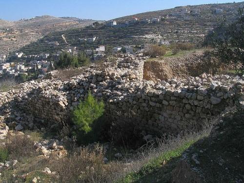 Rozvaliny pevnosti Betar